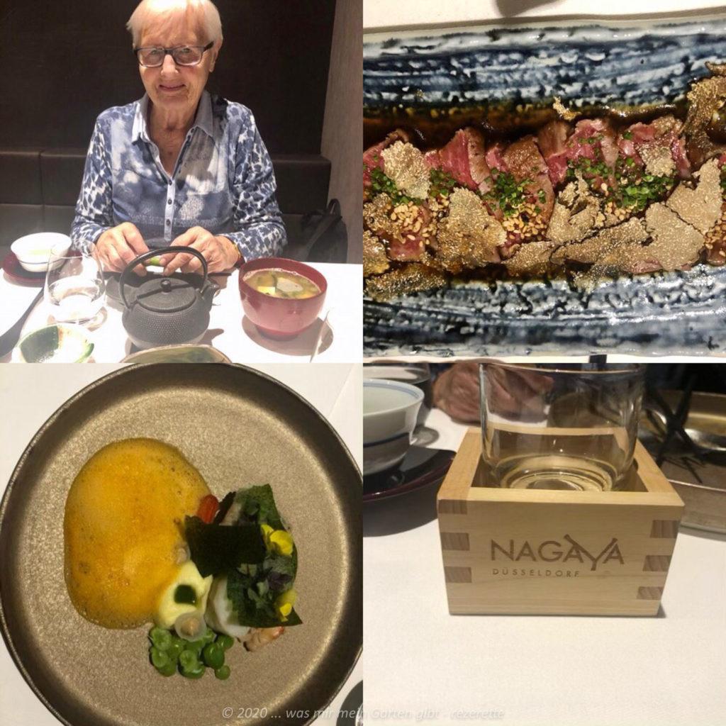 Japanische Essen mit meiner Mutter